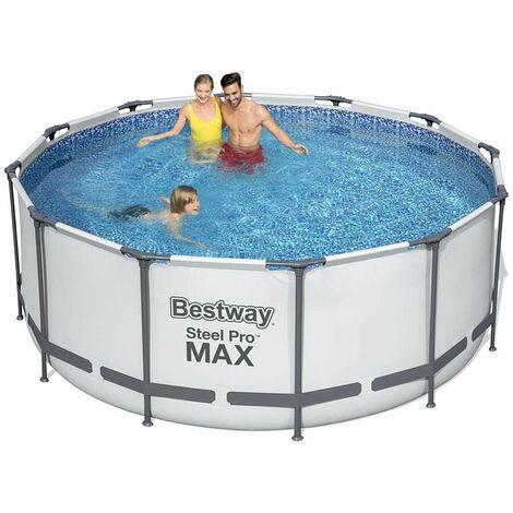 Bestway Frame Pool Steel Pro Set - rund, 366 x 122 cm; 56420