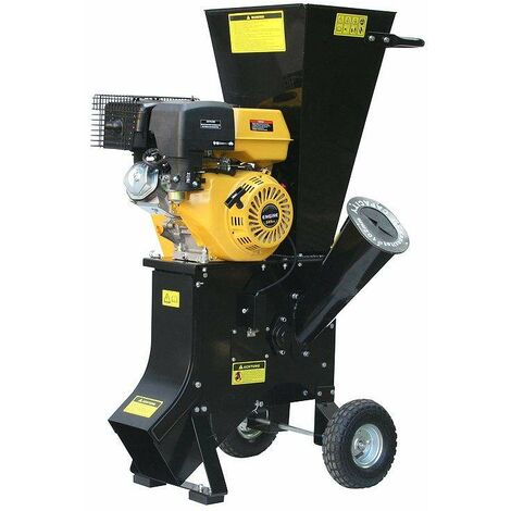Varan Motors - 93022 389cc 13HP PETROL CHIPPER SHREDDER GARDEN SHREDDER WOOD CHIPPER