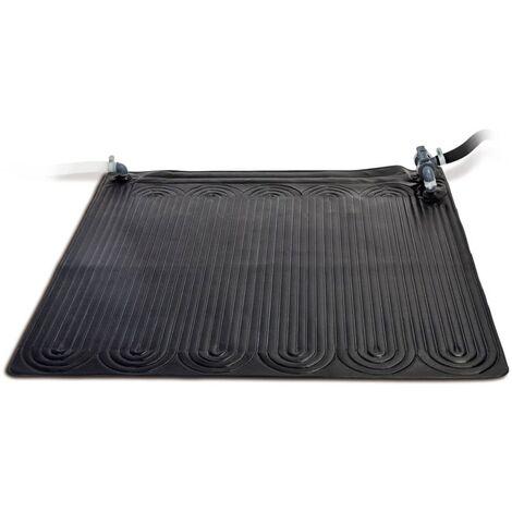 Intex Esterilla calefactora solar PVC 1,2x1,2 m negra 28685 - Negro