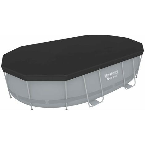 Bestway Flowclear Cubierta para piscina 418x230 cm