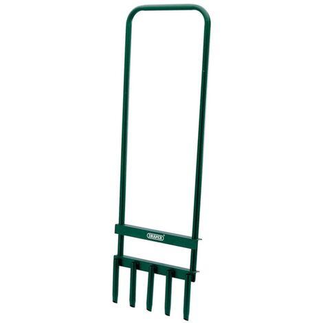 Draper Tools Aireador de césped 29x93 cm verde 30565 - Verde