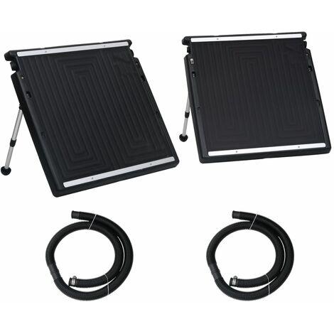 vidaXL Doppio Pannello Solare Termico per Piscina 150x75 cm