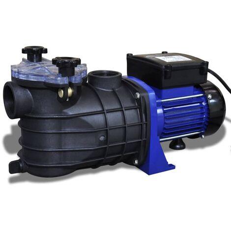 vidaXL Pompa di Filtrazione Elettrica per Piscina Blu 500W - Viola