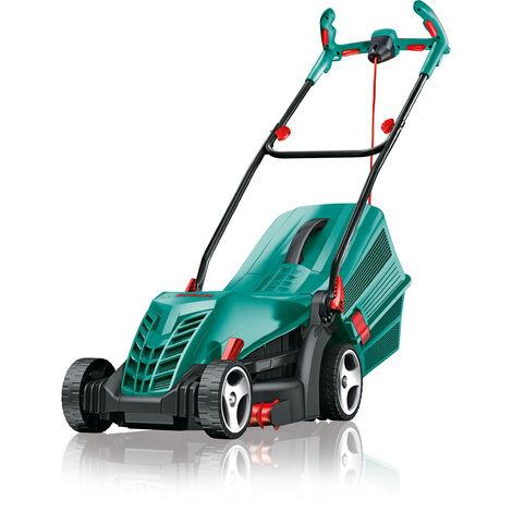 Bosch ROTAK34R Electric 1300w Rotary Lawn Mower 34cm/13.5in 240v