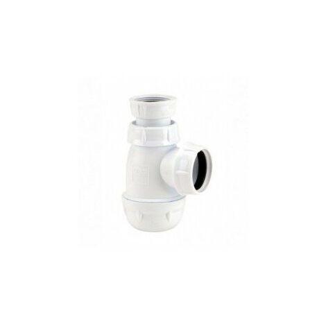 Siphon de lavabo plastique petit culot - nicoll