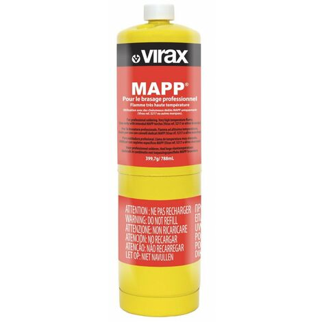 bouteille gas mapp 400g us