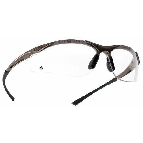 BOLLE PROTECTION - Lunettes de protection - verre teinté - anti-rayures - anti-buée - anti-statique