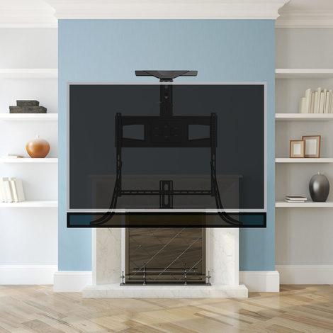 TranquilMount UK TMO100A Full Motion TV Wall Mount bracket Easy TV Lowering Tilt Swivel