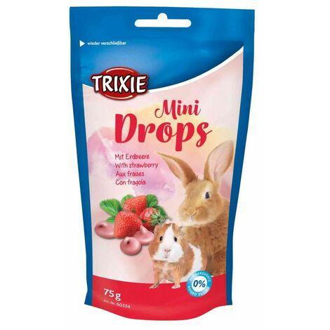 Mini Drops, fraises, 75 g - 60334
