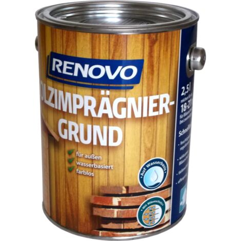 2,5L Renovo Holzimprägniergrund farblos WB