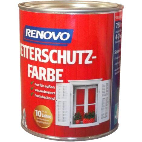 Renovo Wetterschutzfarbe 2,5 Liter/ 0,75 Liter