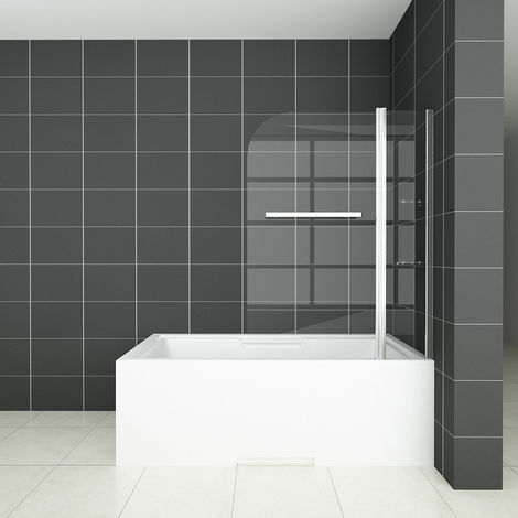 1000 | 1200x1400mm 180°Pivot Chrome Bathroom Shower Screen+Shelves+Towel Rail