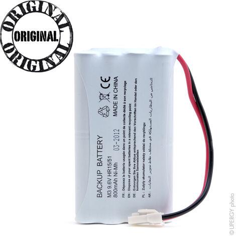 Microbatt - Batterie NiMH SOMFY 5008956 9.6V 0.8Ah