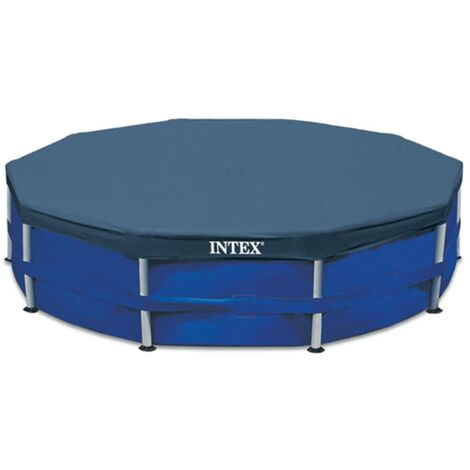 Intex Swimming Pool Cover Round Cloth Sheet Protector Outdoor Multi Sizes