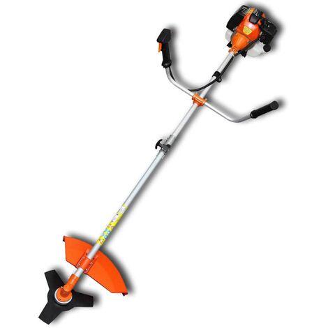 vidaXL Brush Cutter Grass Trimmer 51.7 cc Orange 2.2 kW - Orange