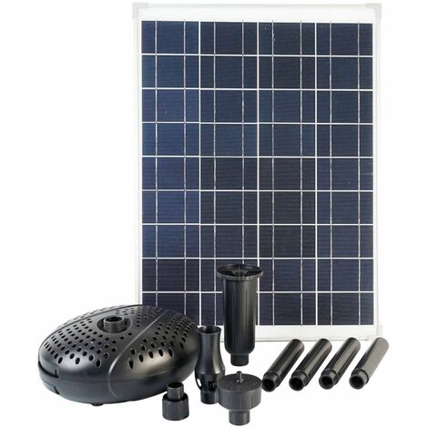 Ubbink SolarMax 2500 Set with Solar Panel and Pump