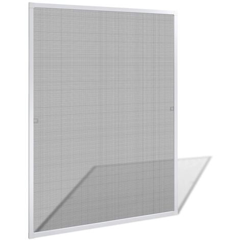 White Insect Screen for Windows 100 x 120 cm - White