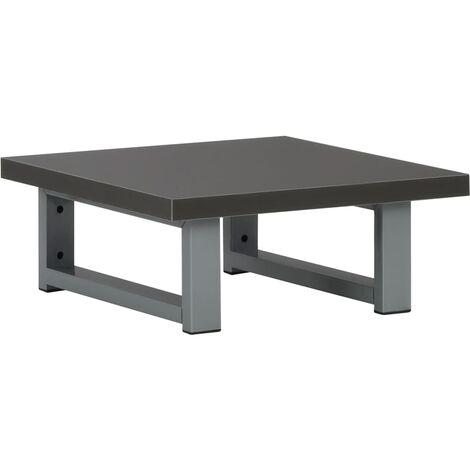 Bathroom Wall Shelf for Basin Grey 40x40x16.3 cm