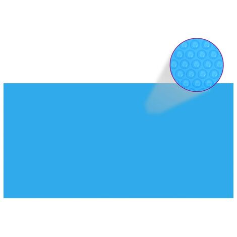 Pool Cover Blue 400x200 cm PE