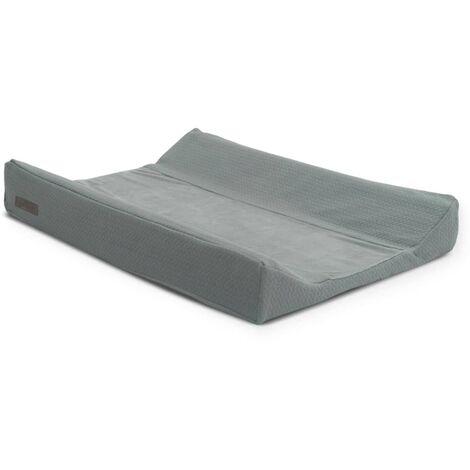 Jollein Changing Mat Cover Brick 50x70 cm Velvet Storm Grey - Grey