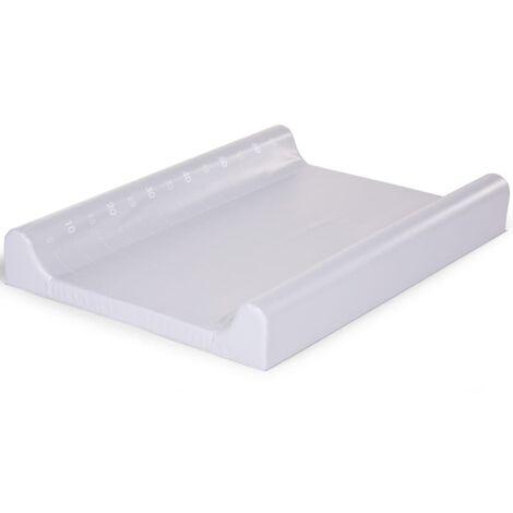 CHILDHOME Changing Cushion 70x50cm PVC Light Grey - Grey