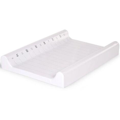 CHILDHOME Changing Cushion 70x50cm PVC White - White