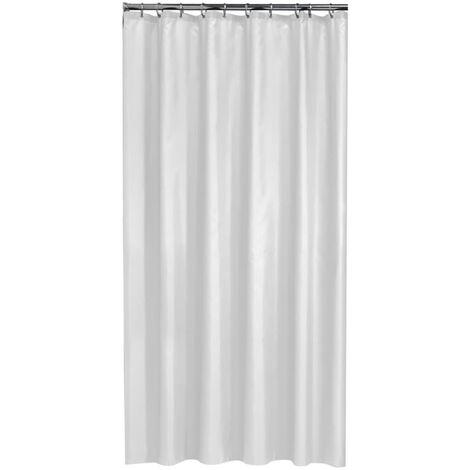 Sealskin Shower Curtain Granada 180cm Waterproof Bathroom Liner Multi Colours