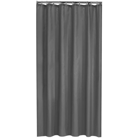 Sealskin Shower Curtain Madeira 180 cm Grey 238501314 - Grey