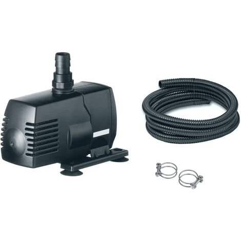 Ubbink Pump Set for Pond Spitters SoArte Black 1386290