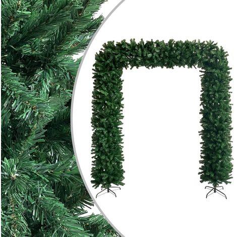 vidaXL Christmas Tree Arch Green 240 cm - Green