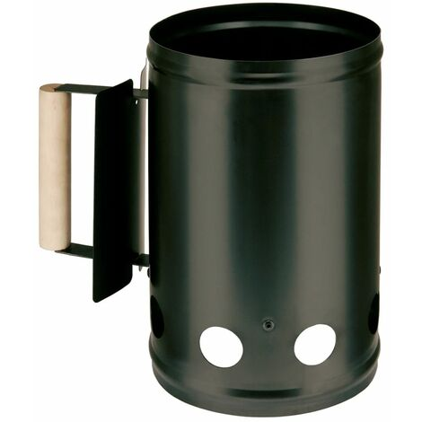 Landmann Barbecue Charcoal Starter 17x27.5 cm Black 0131 - Black
