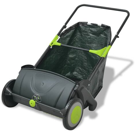 vidaXL Lawn Sweeper 103 L - Multicolour