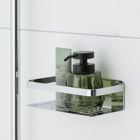 Tiger Bathroom Basket Caddy Chrome 1400030346 - Silver
