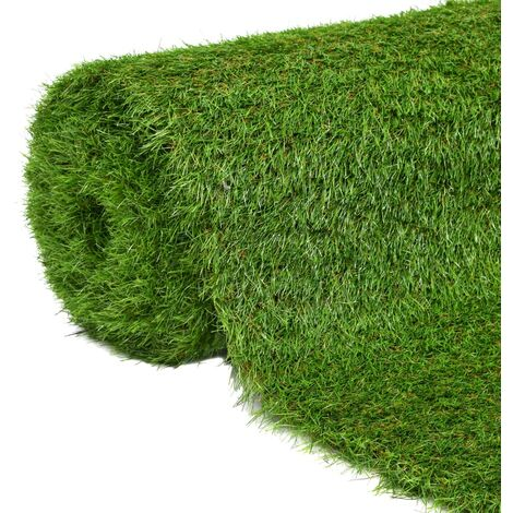 vidaXL Artificial Grass 40 mm Green Fake Lifelike Garden Patio Lawn Turf Artificial Lawn Synthetic Grass Garden Patio Deck Balcony Multi Sizes