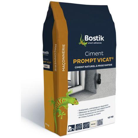 Ciment prompt VICAT P96 BOSTIK - sac 10 kg - 30124882