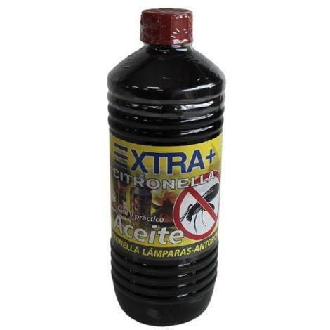 Aceite con Citronella Anti Mosquitos para encendido de Lámparas y Antorchas - 750ml