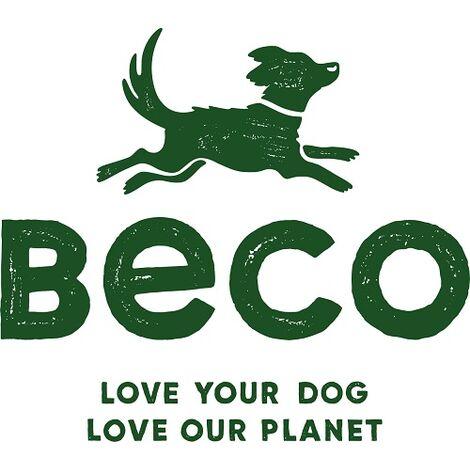 BecoBall con cuerda L (7,5 cm -Cuerda 50 cm) Verde