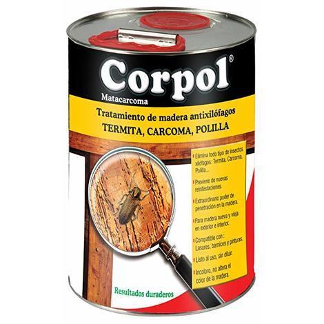 Corpol Insecticida Contra Carcoma, Termita, Polilla - 5 Litros