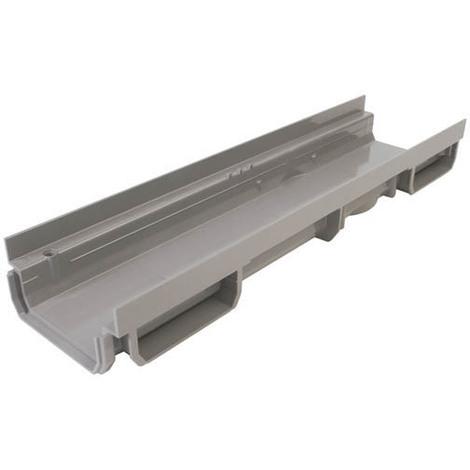 Caniveau bas 0,5m PVC A15 ou B125 largeur 130