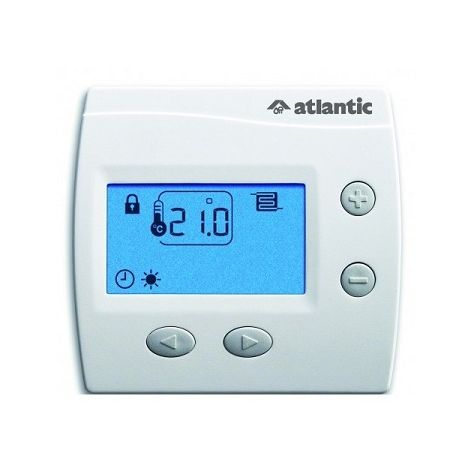 Thermostat pour plancher rayonnant électrique