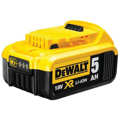 DeWALT DCB184-XJ 18 Volt 5AH Battery Pack