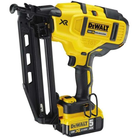 Dewalt DCN660P2-GB 18V 5AH Brushless 2nd Fix Nailer
