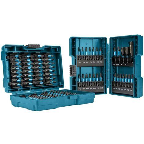 Makita E-03109 Impact Black Bit Set 90 Pcs In Plastic Case