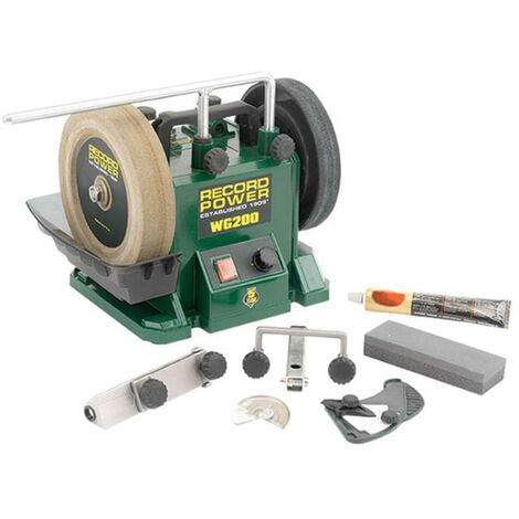 "Record Power WG200-PK/A 8"" Wetstone Grinder Package"