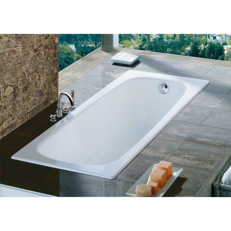 Bañera de acero rectangular CONTESA - ROCA - Medidas: 1500X700 mm.