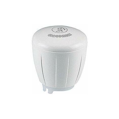 Volante blanco con regulación micrometrica para válvulas termostatizables serie Giacotech R450TG | Blanco