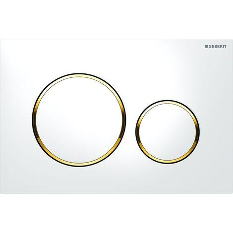 Geberit Sigma20 Trigger plate para doble enjuague