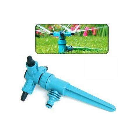 Adjustable speed rotating 3 arm sprinkler garden/lawn 360 degree