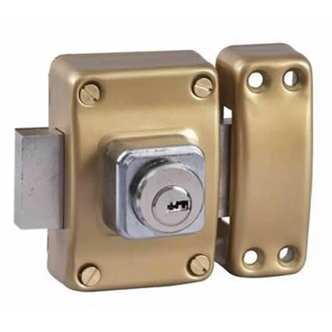 Verrou de securité pour porte avec cylindre 45 mm Alpha Bricard