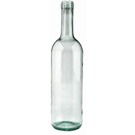 BOTTIGLIA IN VETRO TIPO 'BORDOLESE ECOVA'' 750 ml - colore mezzo bianco